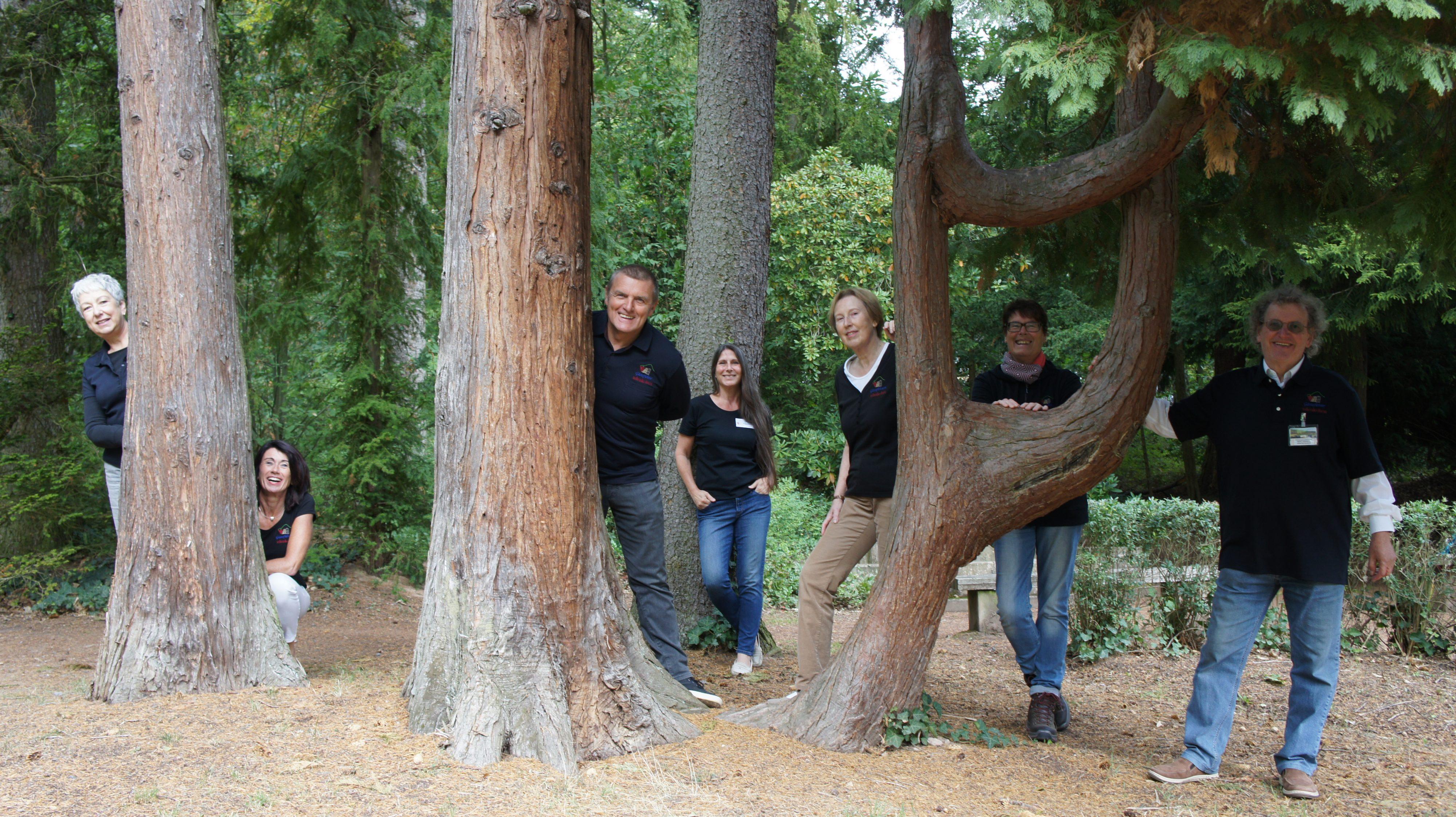 Nicht alle Bäume lassen sich gerne umarmen.